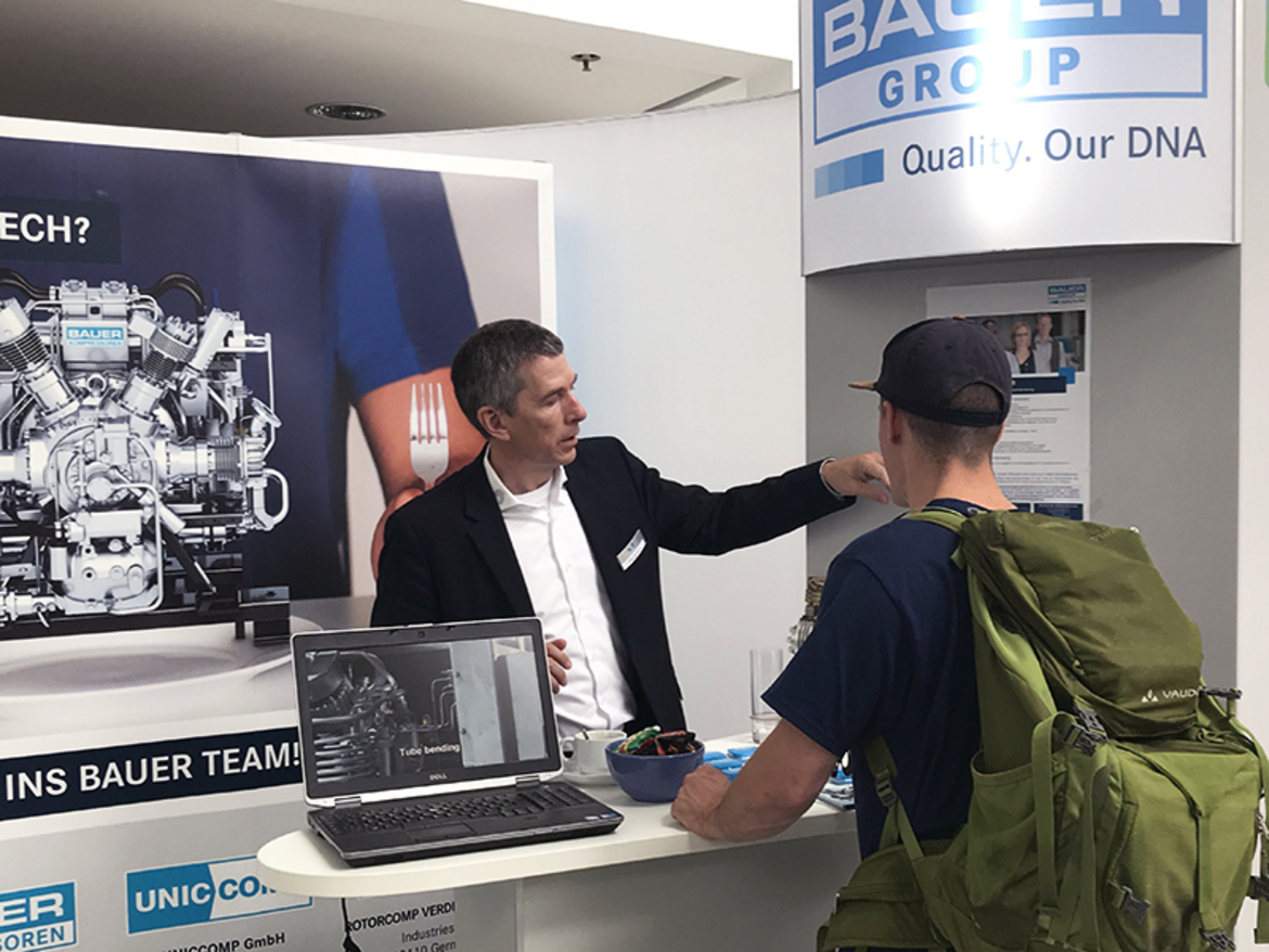 BAUER GROUP à la IKOM 2018, Munich
