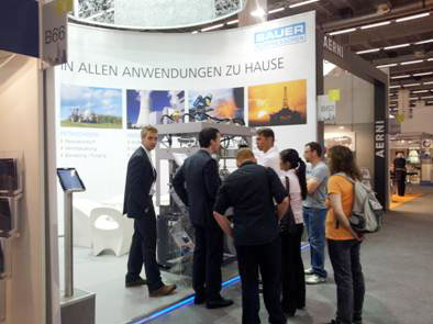BAUER KOMPRESSOREN at the ACHEMA