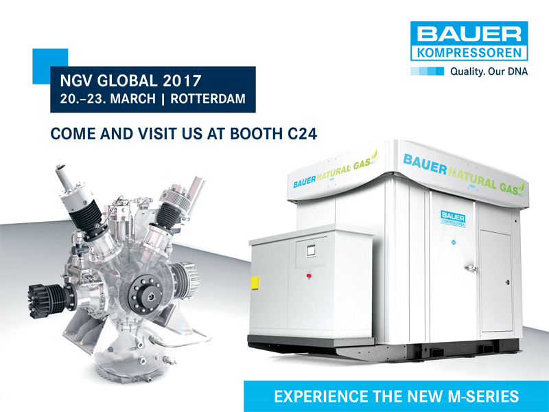 BAUER at the NGV Global 2017, booth C24